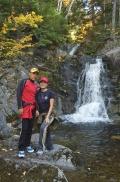 At home at the KV Waterfall