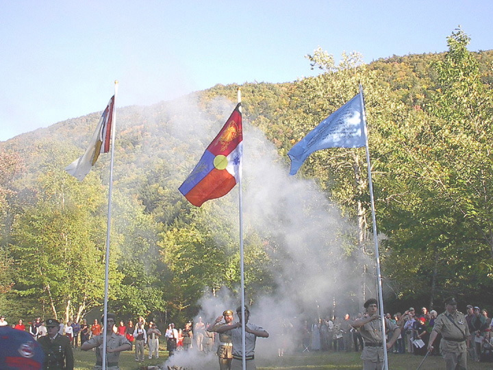 Flags and Lhasang 2003