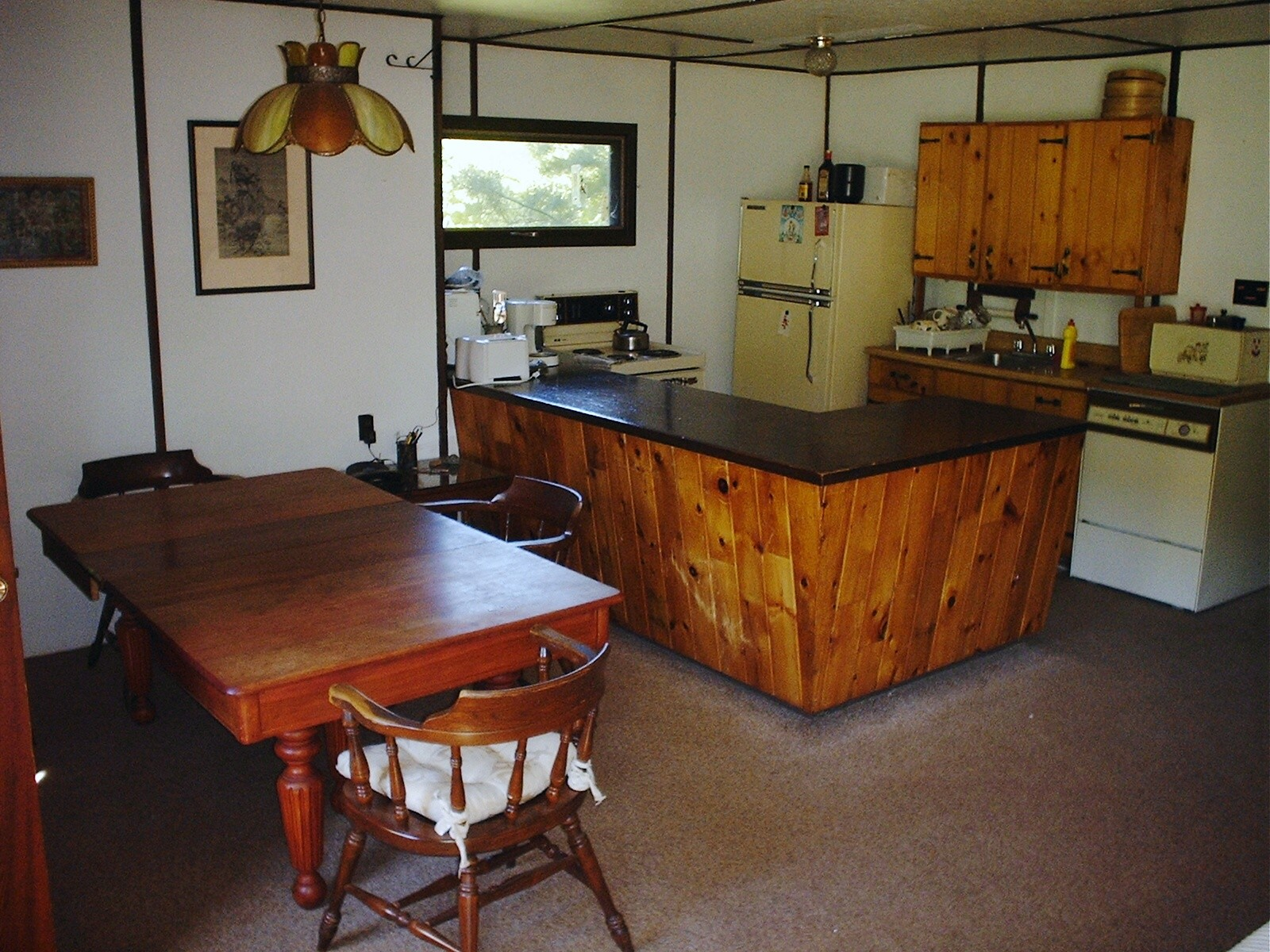 Kitchen in Main house